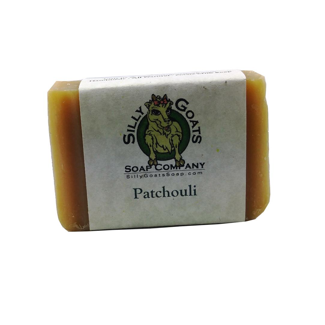 Patchouli Goat Milk Soap - Silly Goats Soap Company