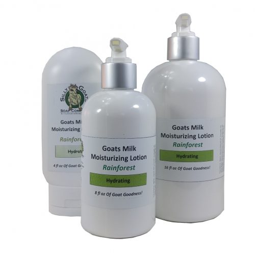Goat Milk Lotion, Rainforest Goat Milk Lotion