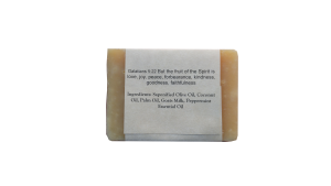 Peppermint Blast Goat Milk Soap Ingredients