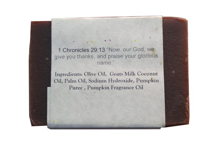 Pumpkin Latte Goat Milk Soap Ingredients
