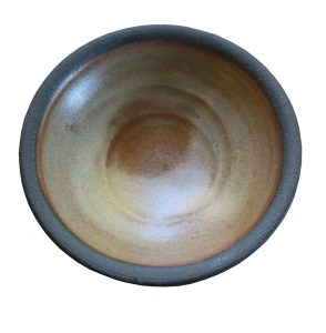 Hand Thrown Shaving Dish Top