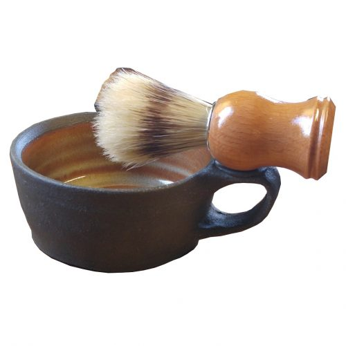 Shaving Mug With Brush