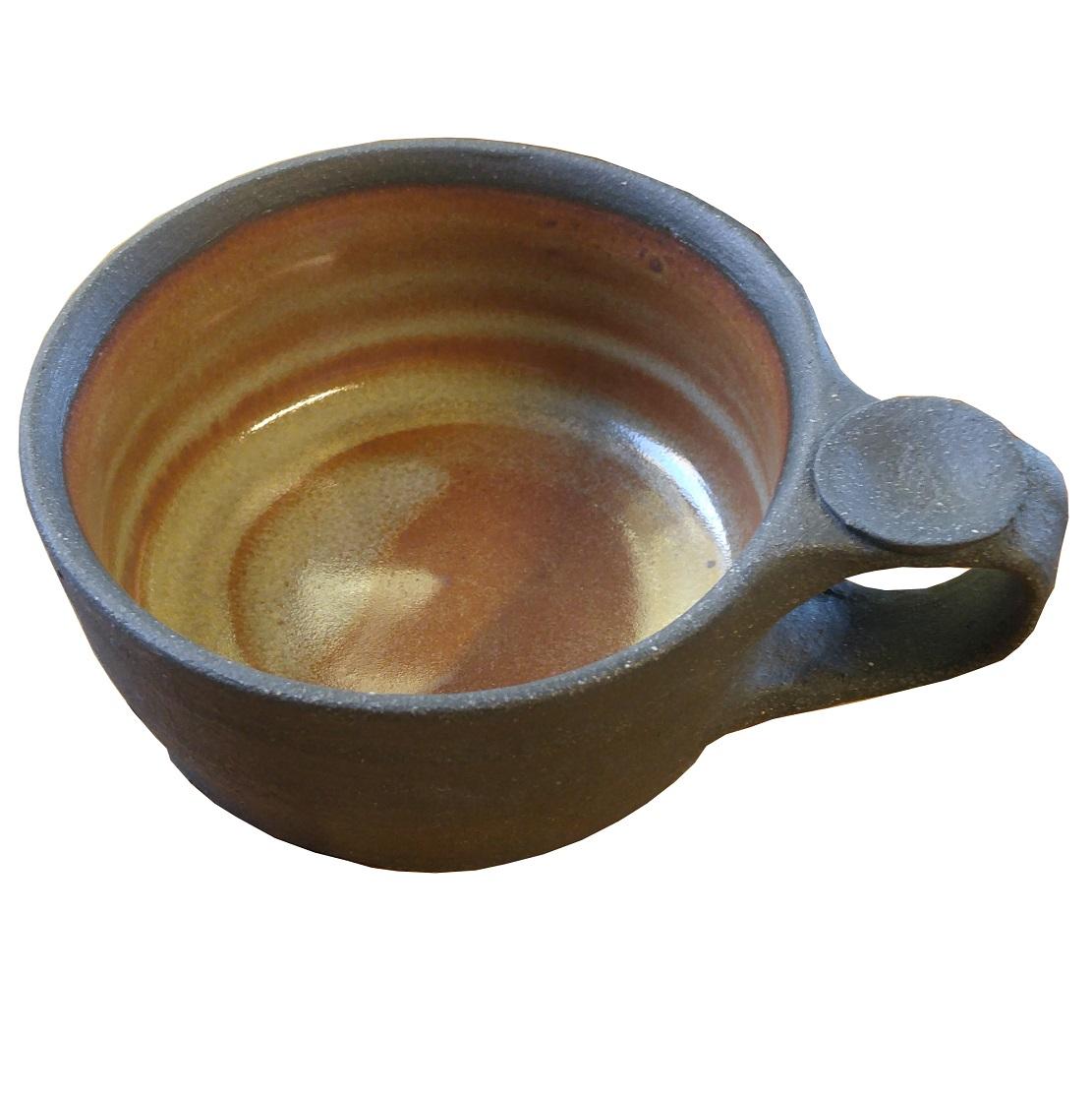 Hand Thrown Shaving Mug