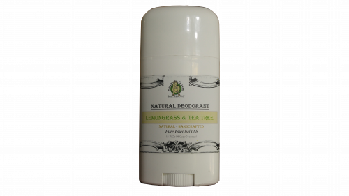 Lemongrass & Tea Tree Deodorant Without Aluminum