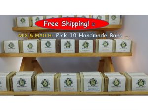 Pick 10 Handmade Goat Milk Soap