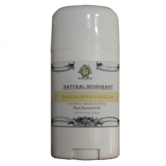 Sandalwood Vanilla Deodorant Without Aluminum