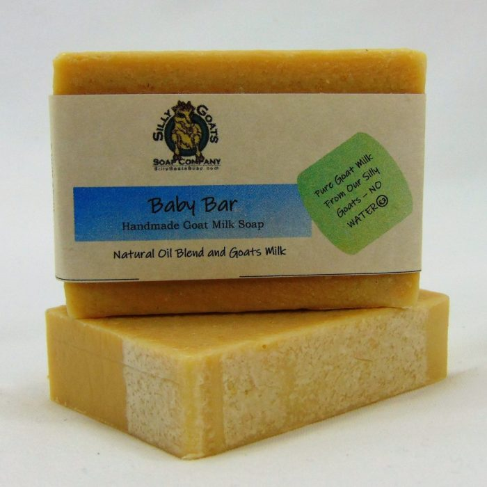 Baby Bar, Handmade Goat Milk by Silly Goats Soap Co.