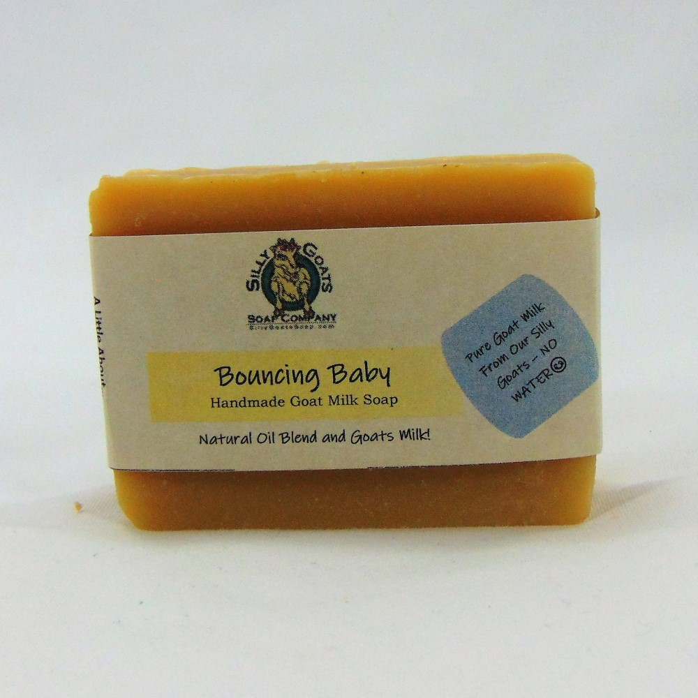 Bouncing Baby, Handmade Goat Milk by Silly Goats Soap Co.