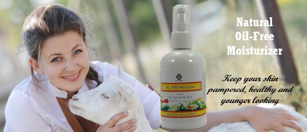 Oil less Face Moisturizer by Silly Goats Soap Company