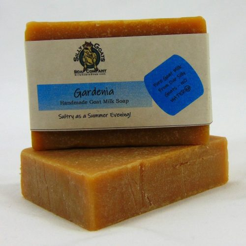 Gardenia Handmade Goat Milk by Silly Goats Soap Co.