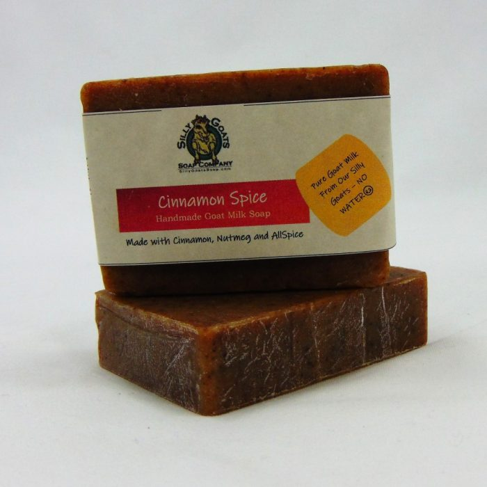Cinnamon Spice, Handmade Goat Milk by Silly Goats Soap Co.