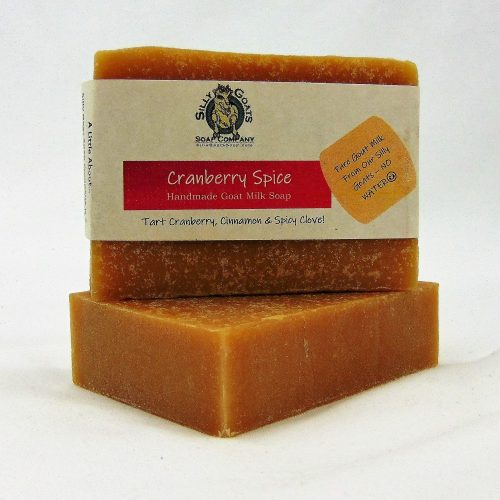 Cranberry Spice, Handmade Goat Milk by Silly Goats Soap Co.
