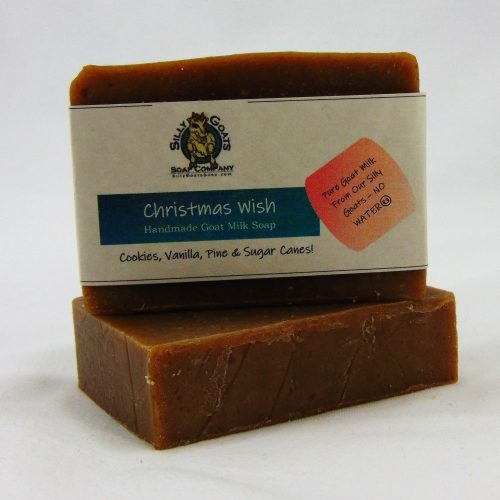 Christmas Wish, Handmade Goat Milk by Silly Goats Soap Co.