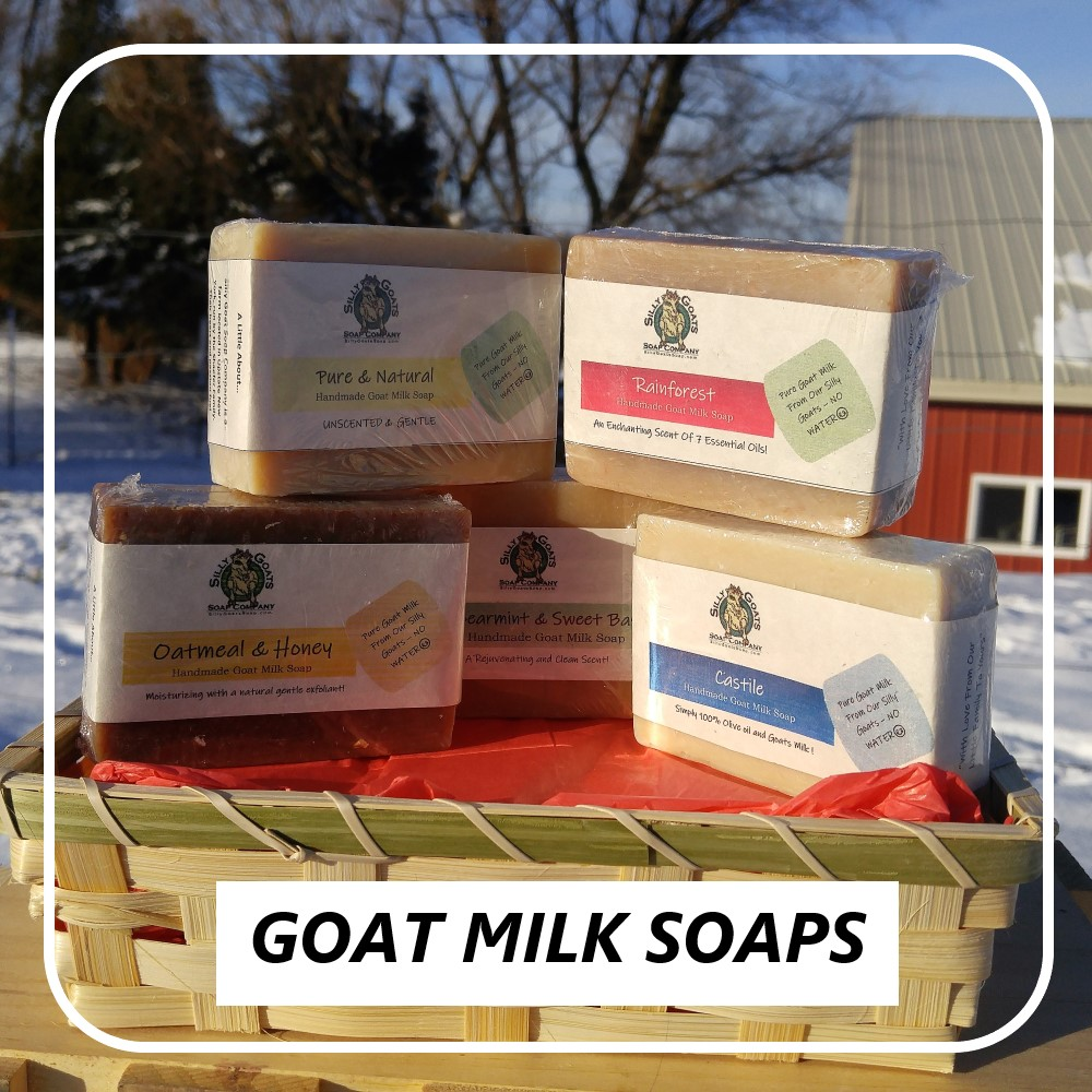 Goat Milk Soaps From Silly Goats Soap Company