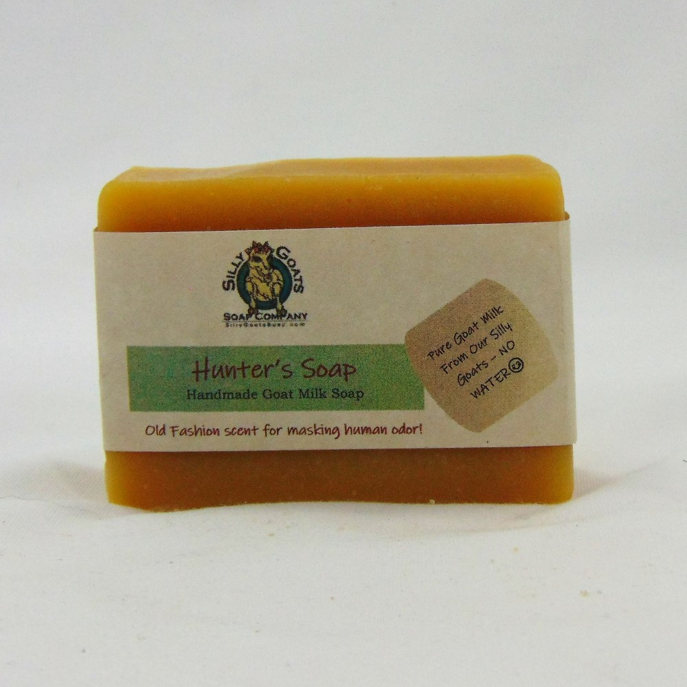 Hunter's Soap, Handmade Goat Milk by Silly Goats Soap Co.