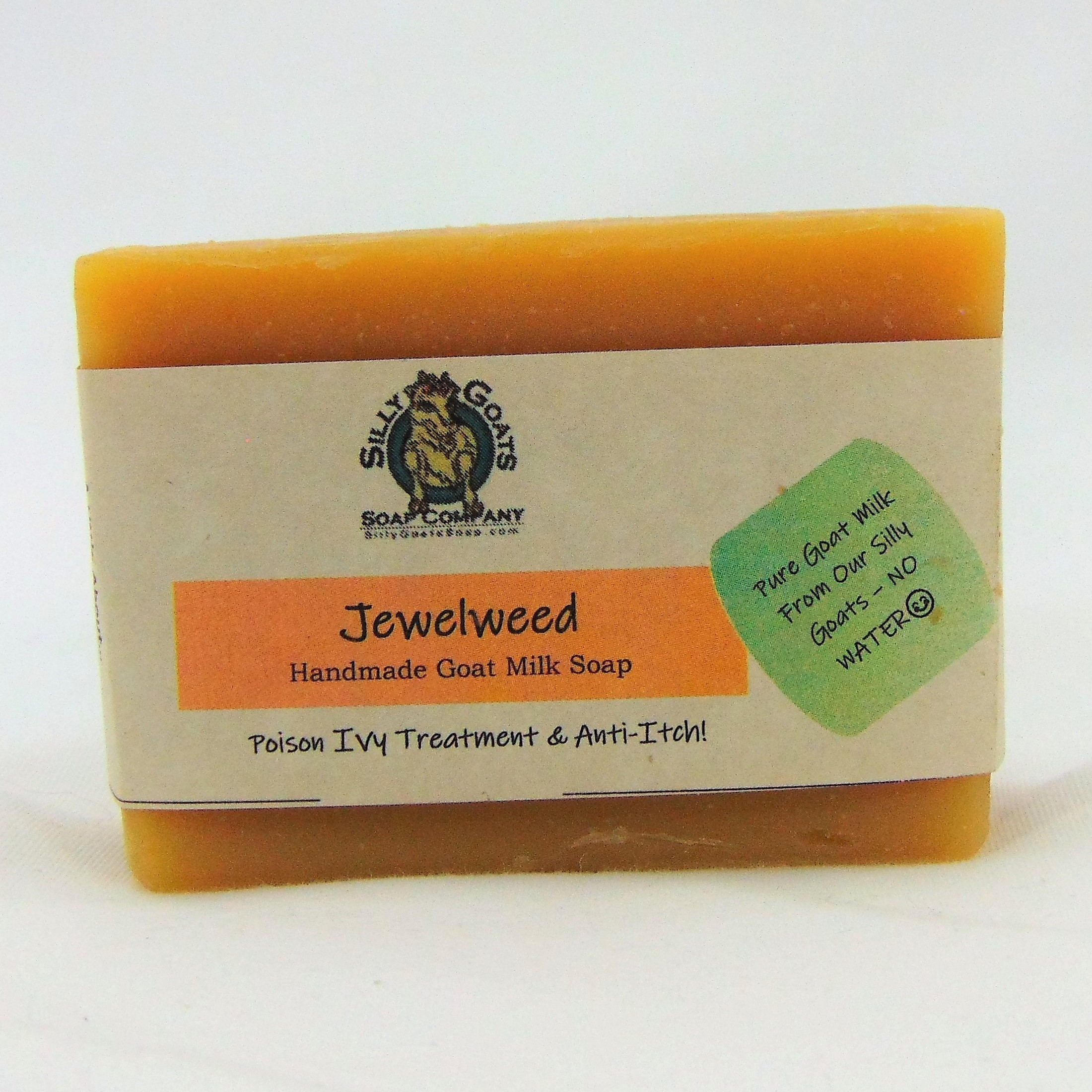 Jewelweed, Handmade Goat Milk by Silly Goats Soap Co.