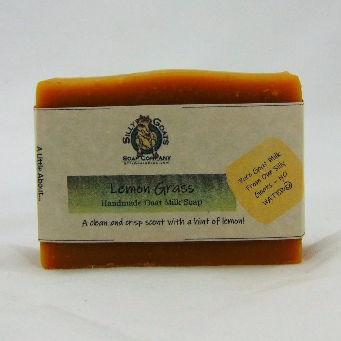 Lemon Grass, Handmade Goat Milk by Silly Goats Soap Co.