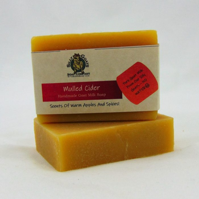 Mulled Apple Cider, Handmade Goat Milk by Silly Goats Soap Co.