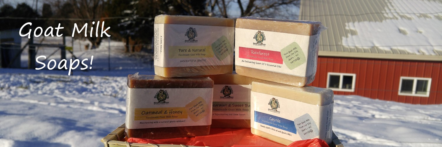 Goat Milk Soaps From Silly Goats Farm!