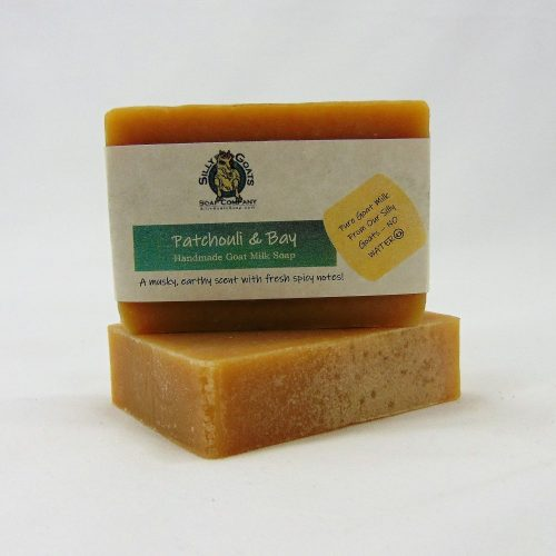 Patchouli and Bay, Handmade Goat Milk by Silly Goats Soap Co.