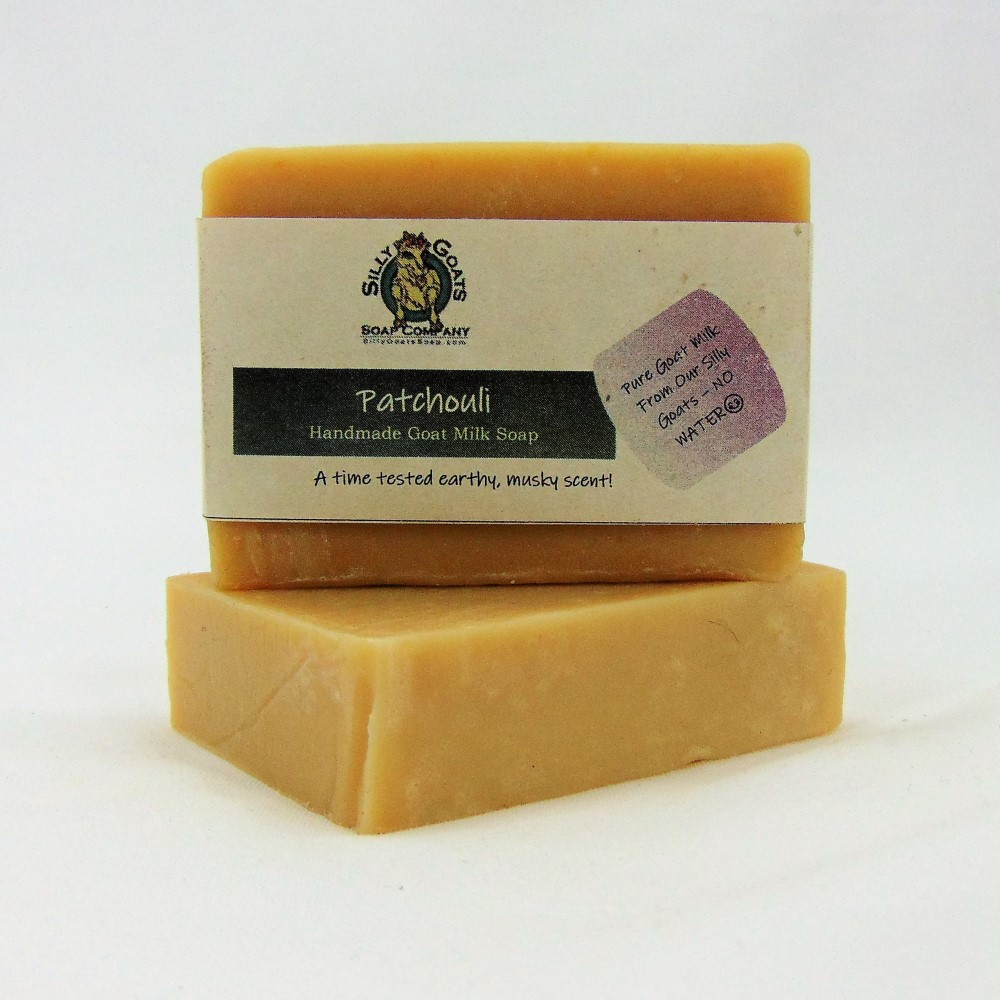 Patchouli, Handmade Goat Milk by Silly Goats Soap Co.