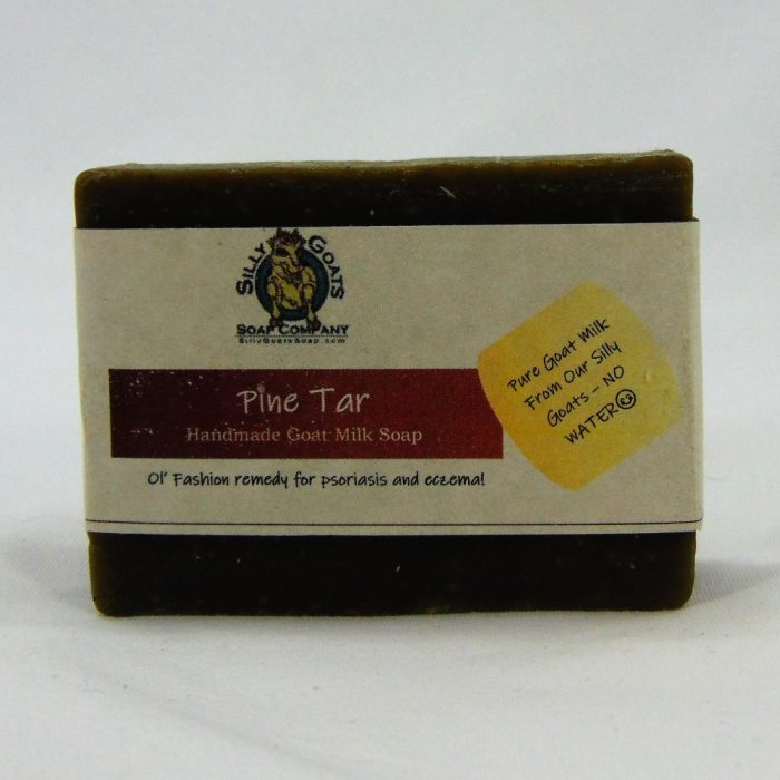 Pine Tar - Psoriasis & Eczema Treatment, Handmade Goat Milk by Silly Goats Soap Co.