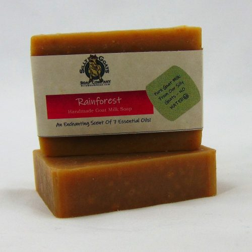 Rainforest, Handmade Goat Milk by Silly Goats Soap Co.