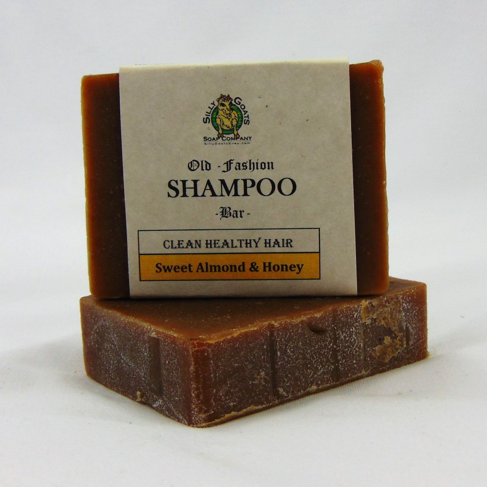 Shampoo Bar - Sweet Almond & Honey, by Silly Goats Soap Co.