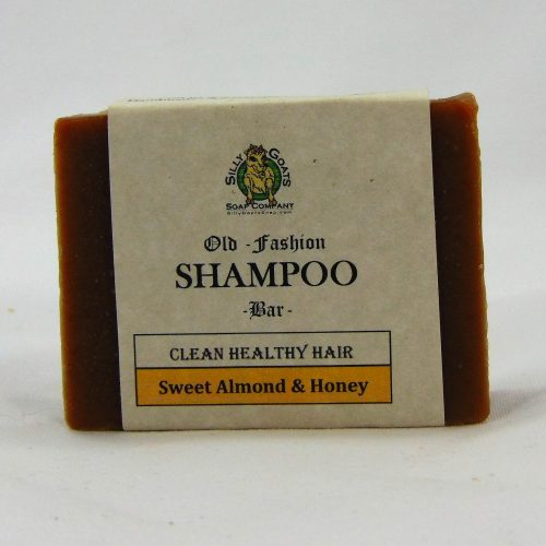 Shampoo Bar - Sweet Almond & Honey, by Silly Goats Soap Co
