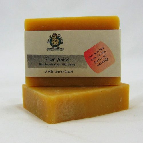 Star Anise, Handmade Goat Milk by Silly Goats Soap Co.