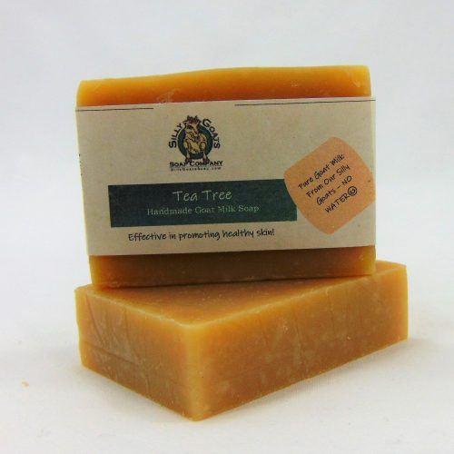 Tea Tree, Handmade Goat Milk by Silly Goats Soap Co.