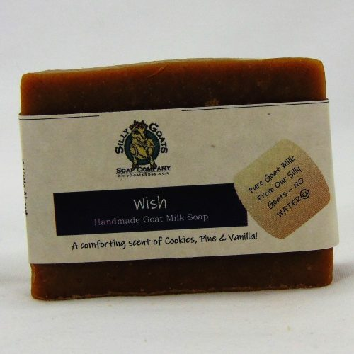 Wish, Handmade Goat Milk by Silly Goats Soap Co.