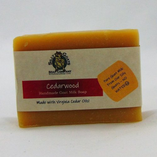 Cedarwood, Handmade Goat Milk by Silly Goats Soap Co.