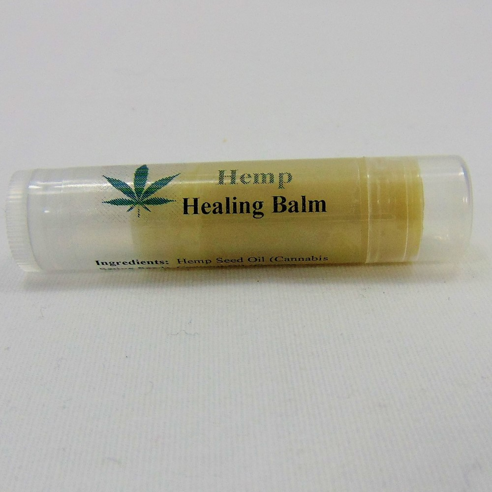 Hemp Oil Lip Balm by Silly Goats Soap Co.