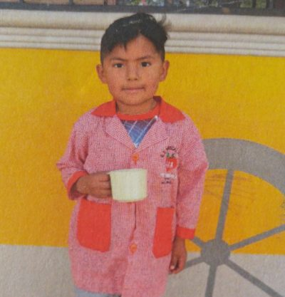 Jheyson - Our sponsored Child. Food For The Hungry