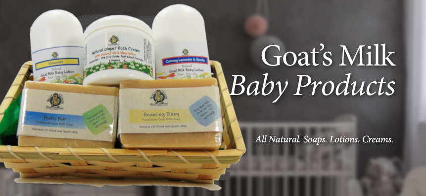 Natural Baby Products by Silly Goats Soap Company