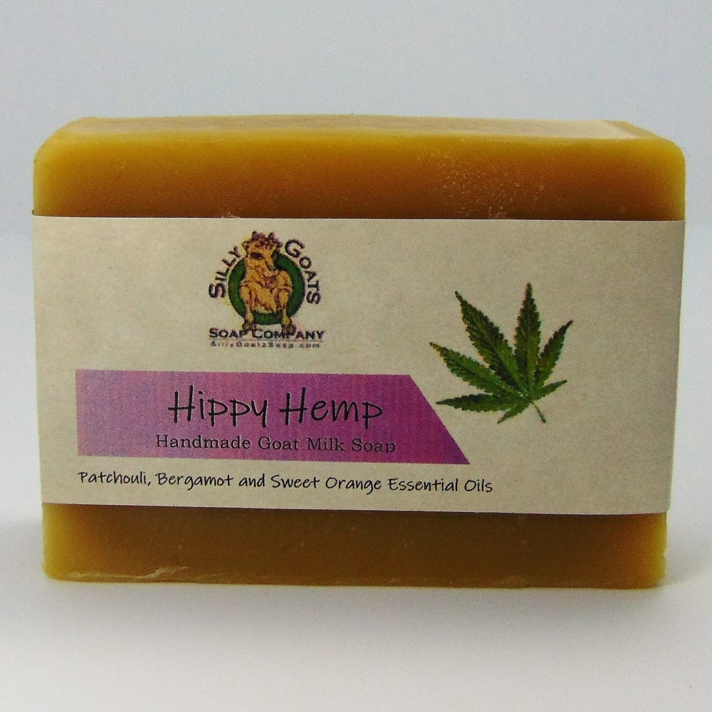Hemp Soap - Hippy Hemp by Silly Goats Soap Co. - Single