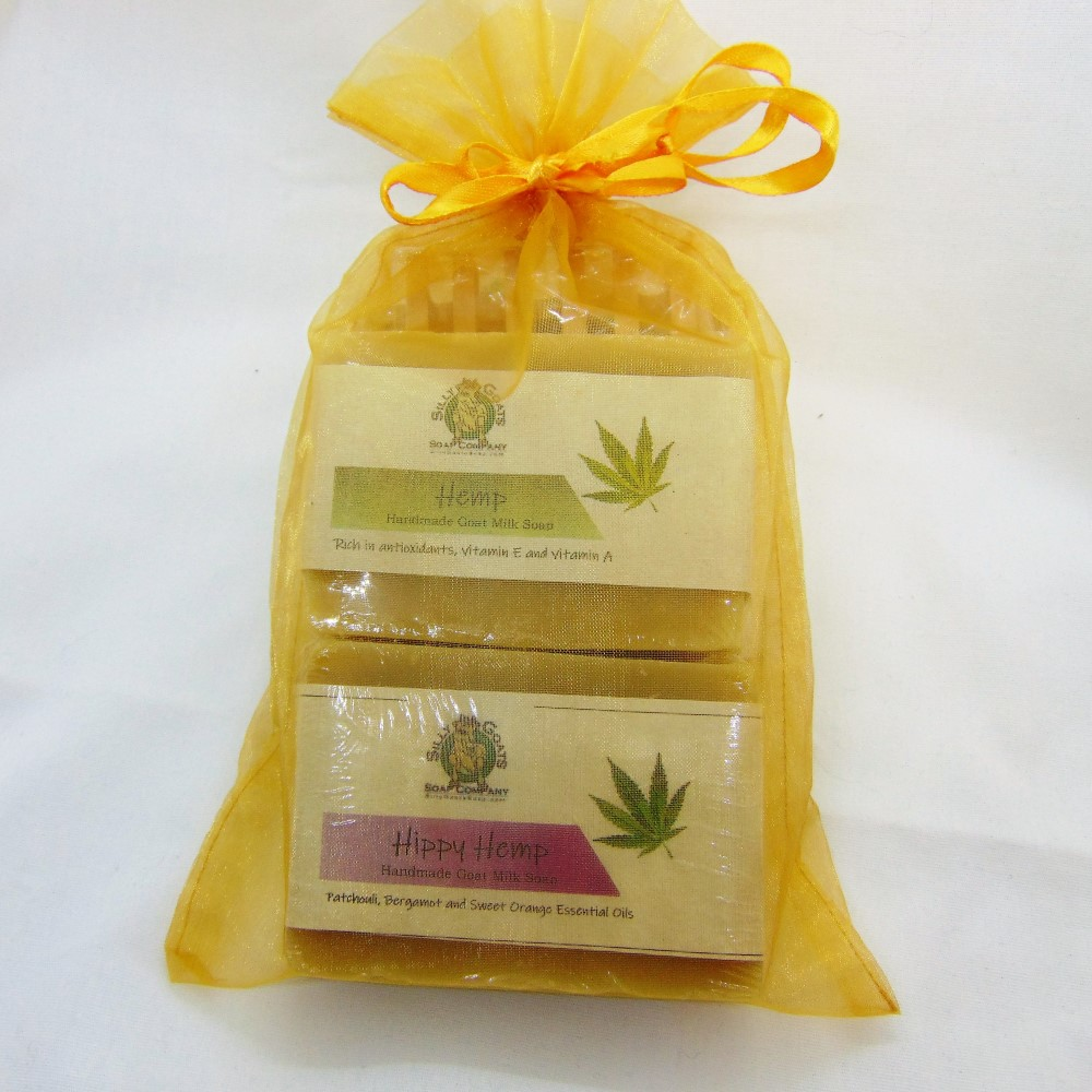 Hemp and Goat Milk Soap Gift, by Silly Goats Soap Co.